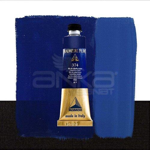 Maimeri Puro Yağlı Boya 40ml Seri 5 374 Cobalt Blue Deep