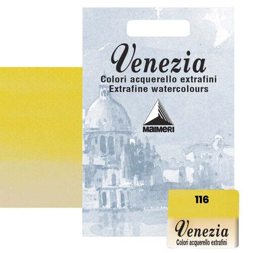 Maimeri Venezia Yarım Tablet Sulu Boya No:116 Primary Yellow - 116 Primary Yellow