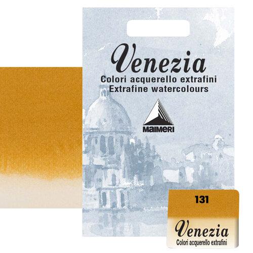 Maimeri Venezia Yarım Tablet Sulu Boya No:131 Yellow Ochre - 131 Yellow Ochre