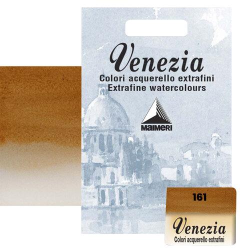 Maimeri Venezia Yarım Tablet Sulu Boya No:161 Raw Sienna - 161 Raw Sienna