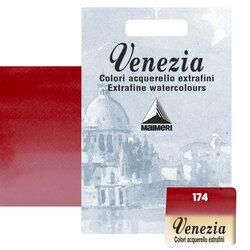 Maimeri - Maimeri Venezia Yarım Tablet Sulu Boya No:174 Crimson Lake