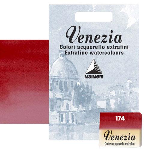 Maimeri Venezia Yarım Tablet Sulu Boya No:174 Crimson Lake - 174 Crimson Lake