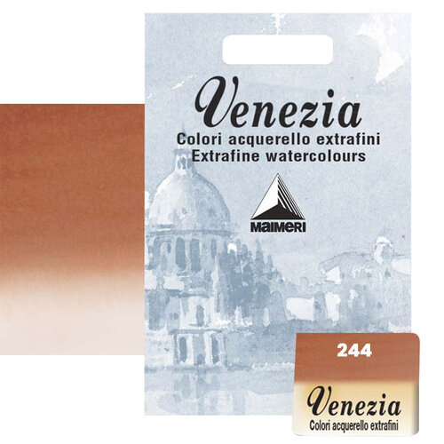 Maimeri Venezia Yarım Tablet Sulu Boya No:244 English Red - 244 English Red