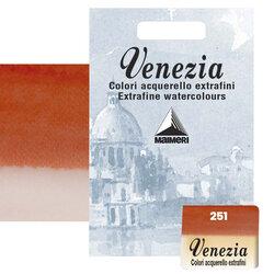 Maimeri - Maimeri Venezia Yarım Tablet Sulu Boya No:251 Permanent Red Light