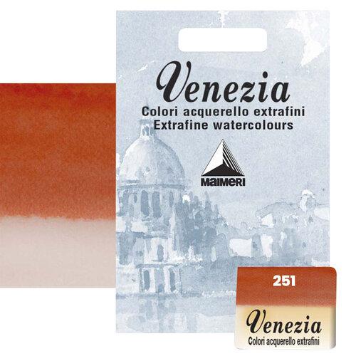 Maimeri Venezia Yarım Tablet Sulu Boya No:251 Permanent Red Light