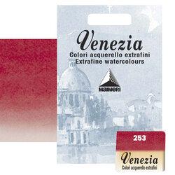 Maimeri - Maimeri Venezia Yarım Tablet Sulu Boya No:253 Permanent Red Deep