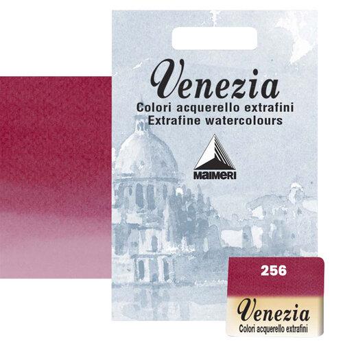 Maimeri Venezia Yarım Tablet Sulu Boya No:256 Primary Red-Magenta - 256 Primary Red-Magenta