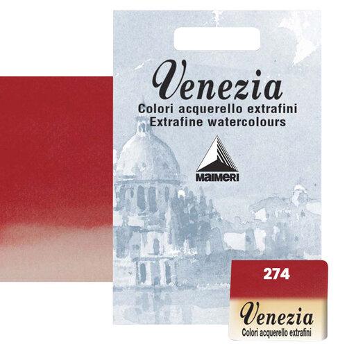 Maimeri Venezia Yarım Tablet Sulu Boya No:274 Scarlet