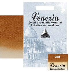 Maimeri - Maimeri Venezia Yarım Tablet Sulu Boya No:278 Burnt Sienna