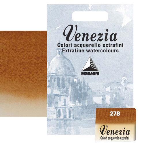 Maimeri Venezia Yarım Tablet Sulu Boya No:278 Burnt Sienna