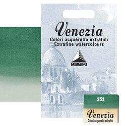 Maimeri - Maimeri Venezia Yarım Tablet Sulu Boya No:321 Phthalo Green