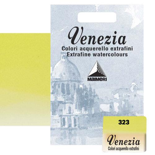 Maimeri Venezia Yarım Tablet Sulu Boya No:323 Yellowish Green