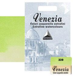 Maimeri - Maimeri Venezia Yarım Tablet Sulu Boya No:339 Permanent Green Light