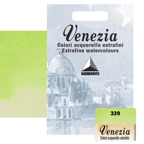 Maimeri Venezia Yarım Tablet Sulu Boya No:339 Permanent Green Light