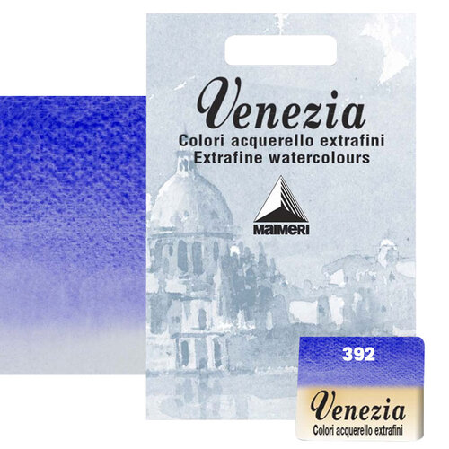 Maimeri Venezia Yarım Tablet Sulu Boya No:392 Ultramarine Deep