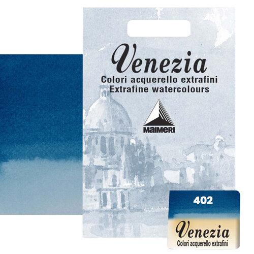 Maimeri Venezia Yarım Tablet Sulu Boya No:402 Prussian Blue - 402 Prussian Blue
