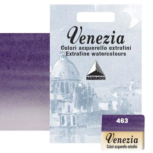 Maimeri Venezia Yarım Tablet Sulu Boya No:463 Permanent Violet Blueish