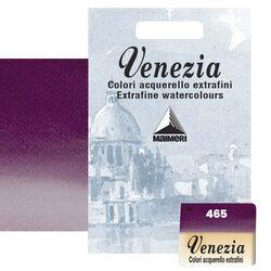Maimeri - Maimeri Venezia Yarım Tablet Sulu Boya No:465 Permanent Violet Reddish