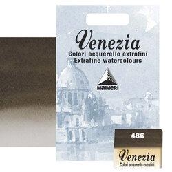 Maimeri - Maimeri Venezia Yarım Tablet Sulu Boya No:486 Sepia