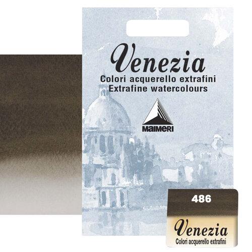 Maimeri Venezia Yarım Tablet Sulu Boya No:486 Sepia