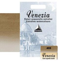 Maimeri - Maimeri Venezia Yarım Tablet Sulu Boya No:493 Raw Umber