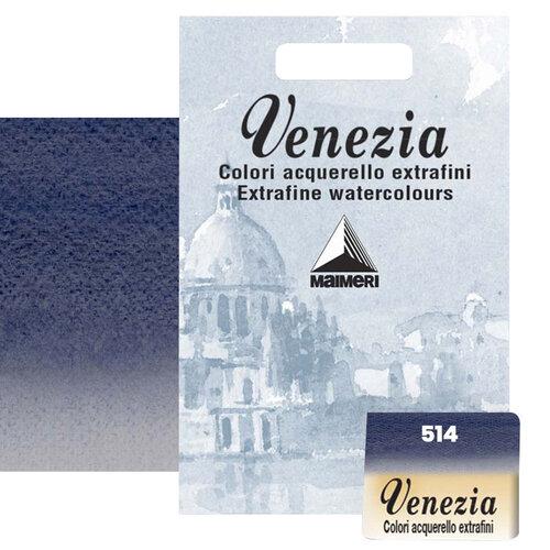 Maimeri Venezia Yarım Tablet Sulu Boya No:514 Paynes Grey