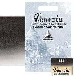 Maimeri - Maimeri Venezia Yarım Tablet Sulu Boya No:535 Ivory Black