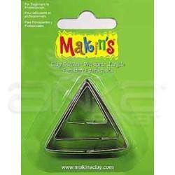 Makins Clay - Makin's Clay Kesici Kalıp Seti Üçgen 3 Parça Kod:36003