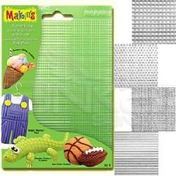 Makins Clay - Makin's Clay Texture Sheets Doku Kalıpları 4lü Set B (1)