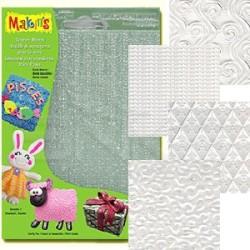 Makins Clay - Makin's Clay Texture Sheets Doku Kalıpları 4lü Set E (1)
