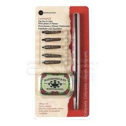 Manuscript - Manuscript Leonardt Dip Pen Oblique Set MDP2076