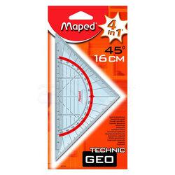 Maped - Maped Technic Geo Gönye 16cm 45 Derece