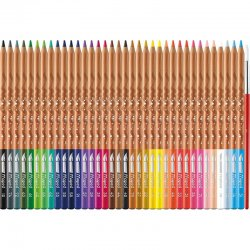 Maped - Maped Watercoloured Pencils Sulu Boya Kalem Seti 3.7mm 36lı (1)