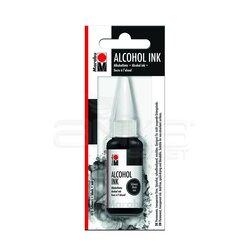 Marabu - Marabu Alcohol Ink Alkol Bazlı Mürekkep 20ml 073 Black