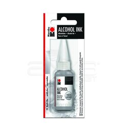 Marabu - Marabu Alcohol Ink Alkol Bazlı Mürekkep 20ml 782 Metallic Silver