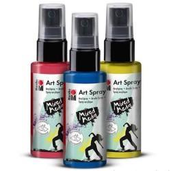 Marabu Art Spray Akrilik Spray Boya 50ml - Thumbnail