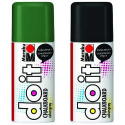 Marabu Do-it Chalkboard Spray Kara Tahta Boyası 150ml - Thumbnail