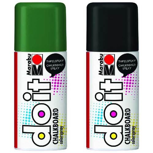 Marabu Do-it Chalkboard Spray Kara Tahta Boyası 150ml