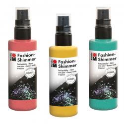 Marabu - Marabu Fashion Shimmer Spray Kumaş Boyası 100ml