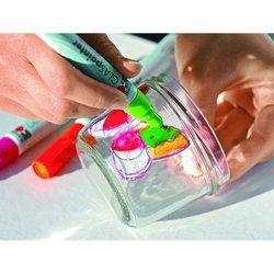 Marabu - Marabu Glas Painter Cam Marker Kalem 5li Set (1)