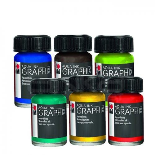 Marabu Graphix Aqua Ink 15ml
