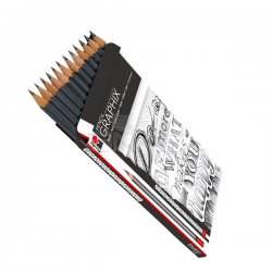 Marabu - Marabu Graphix Pencil Dereceli Kalem Seti 12li (1)