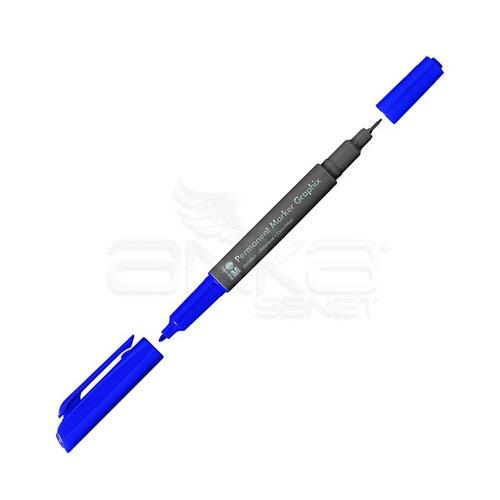 Marabu Graphix Permanent Marker Çift Uçlu 1.0mm-0.5mm 139 Plum