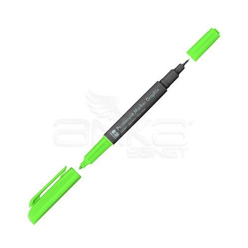 Marabu Graphix Permanent Marker Çift Uçlu 1.0mm-0.5mm 156 Jade