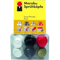 Marabu - Marabu Sprey Ucu 6 lı Set (1)