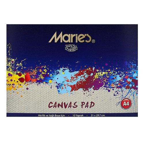 Maries Canvas Pad Akrilik ve Yağlı Boya Blok 20 Yaprak 21x29,7cm