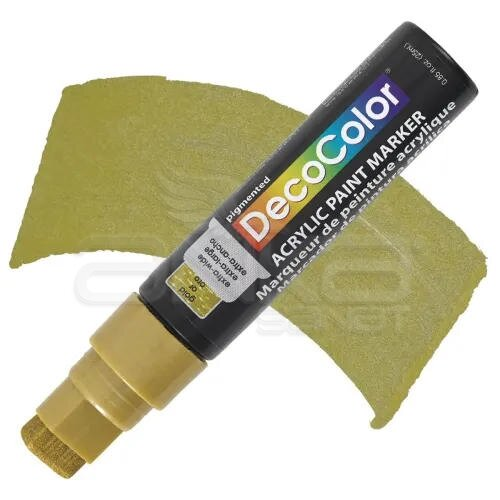 Marvy Decocolor Acrylic Jumbo Paint Marker 15mm Gold - Gold