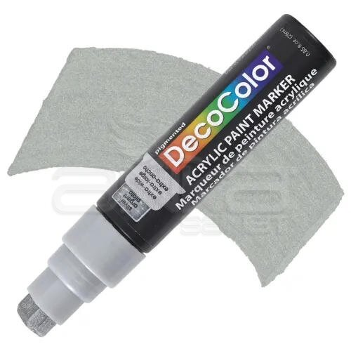Marvy Decocolor Acrylic Jumbo Paint Marker 15mm Silver - Silver