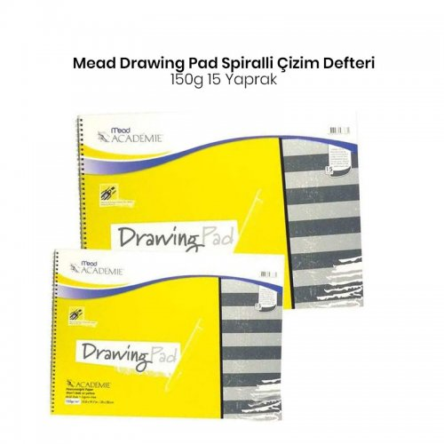Mead Drawing Pad 150g 15 Yaprak
