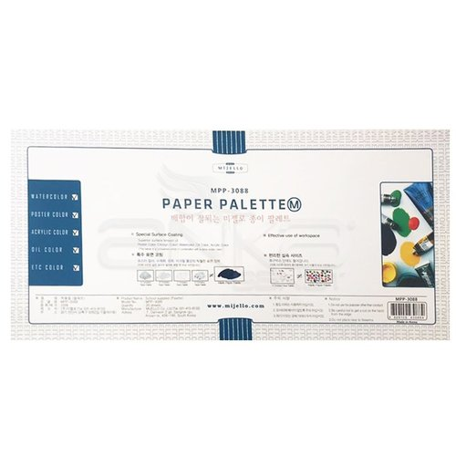 Mijello Kullan At Kağıt Paleti 20 Yaprak 27.0x17.5cm MPP-3088